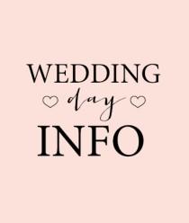 weddingdayinfo